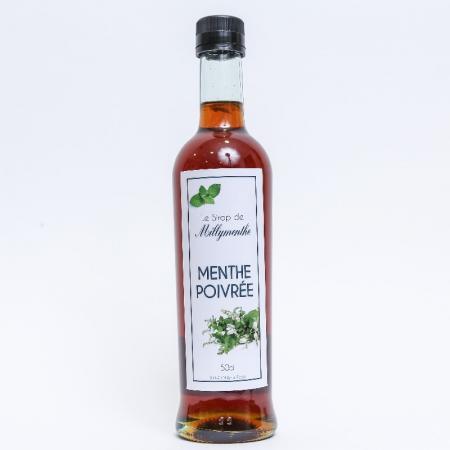 Sirop de menthe poivrée de Milly-la-Forêt - 50cl